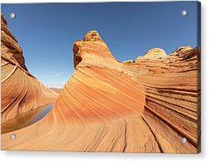 A Valley And The Wave Acrylic Print by Tim Grams