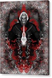 A Vampire Quest Fantasy Art Acrylic Print