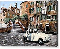 a Venezia in 500 Acrylic Print by Guido Borelli