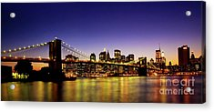 A View From Brooklyn Acrylic Print