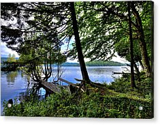 Acrylic Print featuring the photograph A View From Covewood by David Patterson