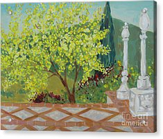 A View From Hearst Castle Acrylic Print