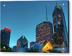 A View From Millenium Park Acrylic Print