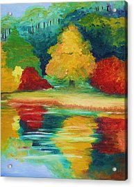 A View I Remember  Acrylic Print by Julie Lueders
