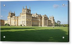 Acrylic Print featuring the photograph A View Of Blenheim Palace by Joe Winkler