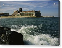 A View Of The Seaside Convention Center Acrylic Print by Ira Block