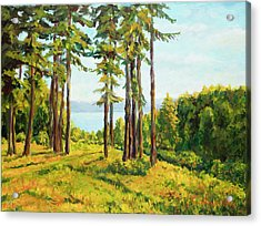 A View To The Lake Acrylic Print