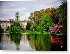 A View To The Palace Acrylic Print by Pat Shawyer
