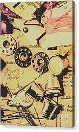 A Vintage Embellishment Acrylic Print