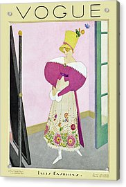 A Vintage Vogue Magazine Cover From 1926 Acrylic Print