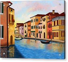 A Vision Of Venice Acrylic Print