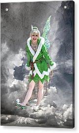 A Visit From The Tinker Fairy Acrylic Print by John Haldane