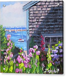 A Visit To P Town Jr Acrylic Print by Laura Lee Zanghetti