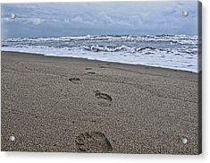 A Walk On The Beach Acrylic Print