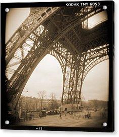 A Walk Through Paris 13 Acrylic Print by Mike McGlothlen