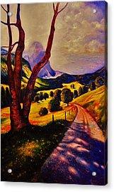 A Walk Through The Mountains Acrylic Print