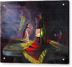 A Warm Friend Acrylic Print by Jeff Brimley