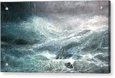 a wave my way by Jarko Acrylic Print