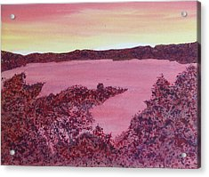 Acrylic Print featuring the painting A Wee Bit O Heaven  by Joel Deutsch