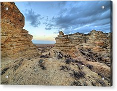 Acrylic Print featuring the photograph A Western Kansas Sunrise by JC Findley