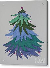 A Wild Christmas Tree Acrylic Print by James SheppardIII