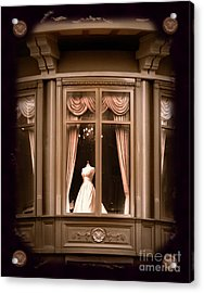 A Window Lost In Time Acrylic Print by Laura Iverson