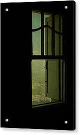 A Window Out To The Sea Acrylic Print by Valmir Ribeiro