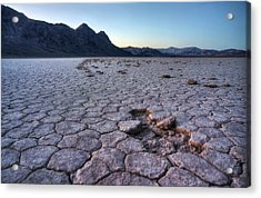 Acrylic Print featuring the photograph A Windy Place In The Desert by Peter Thoeny