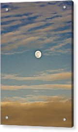 A Winter Moon Acrylic Print