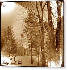 Acrylic Print featuring the photograph A Winter Scene by Skyler Tipton