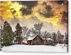 A Winter Sky Acrylic Print