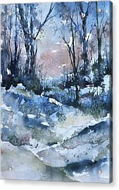 A Winter's Eve Acrylic Print