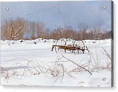 A Winters Morning 2016 Acrylic Print