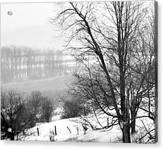 A Wintry Day Acrylic Print by Gerlinde Keating - Galleria GK Keating Associates Inc