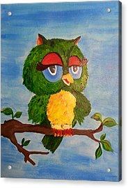 A Wise Bird Acrylic Print