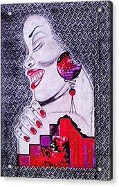 A Womans World Acrylic Print by Eziagulu Chukwunonso Innocent
