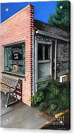 A1 Sewing Acrylic Print