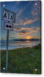 A1a Sunrise Acrylic Print