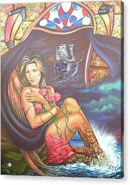 Abana Travel Acrylic Print