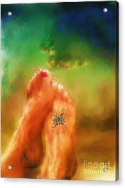 Aah Summer Acrylic Print by Marilyn Sholin
