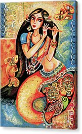 Aanandinii And The Fishes Acrylic Print