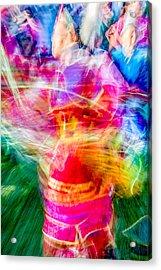 Aaniiih Dance Acrylic Print by Todd Klassy