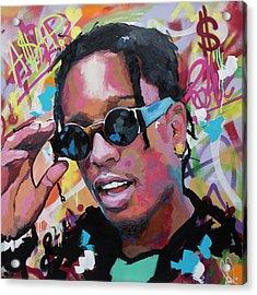 A$ap Rocky Acrylic Print