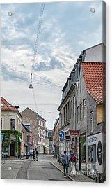 Acrylic Print featuring the photograph Aarhus Urban Scene by Antony McAulay