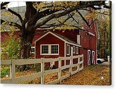 Aaron Smith Farm Autumn 4 Acrylic Print
