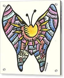 Ababang Guam Butterfly 2009 Acrylic Print