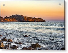 Acrylic Print featuring the photograph Abalone Point Sunset by Anthony Baatz