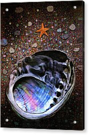 Abalone Acrylic Print by Robert Foster