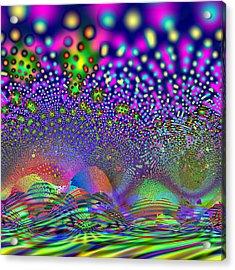 Abanalyzed Acrylic Print