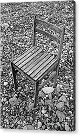 Abandon Chair Series - Among Rocks Acrylic Print